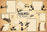 20 Hand PS Brushes abr.Vol.8