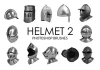 Free Helmet Photoshop Brushes 2