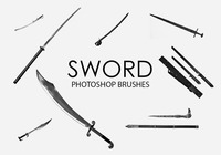 Free Sword Photoshop Brushes