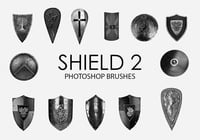 Free Shield Photoshop Brushes 2