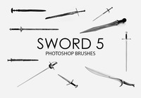 Free Sword Pinceles para Photoshop 5