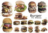 20 Burger PS Brushes abr. Vol.7