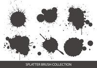 Colección de cepillos de Splatter