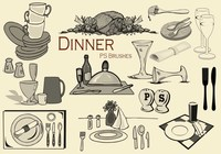 20 Dinner PS Brushes.abr vol.1