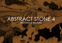 Free Abstract Stone Photoshop Brushes 4