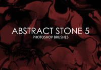 Free Abstract Stone Pinceles de Photoshop 5