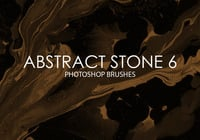 Free Abstract Stone Photoshop Brushes 6