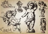 20 Cupid PS Brushes abr. Vol.1