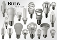 20 Bulb Ps Brushes abr. Volúmen 1