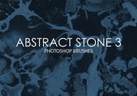 Gratis Abstracte Stenen Photoshop Borstels 3