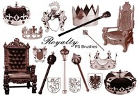 20 Royalty PS Brushes abr. vol.1