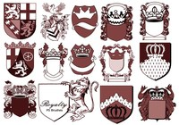 20 Royalty Emblem PS Brushes abr. vol.2
