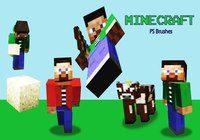 20 Minecraft PS Bürsten abr. Vol. 2