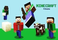 20 Minecraft PS Pinceles abr. Vol.2