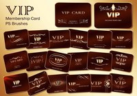 20 Vip Card PS Bürsten abr. Vol. 2
