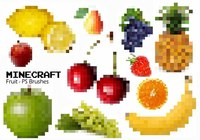 20 Minecraft Fruit PS Borstels abr. Vol.4