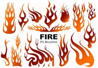 Fire Silhouette PS Pensels