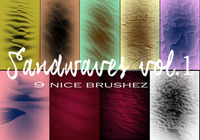 Sandwaves Vol 1. Brushes
