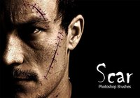 20 Scar PS Brushes abr.Vol.3