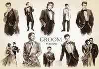 20 Groom PS Brushes abr. Vol.1