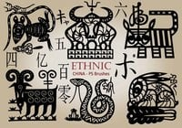 20 Ethnic PS Pinceles abr. Vol.15