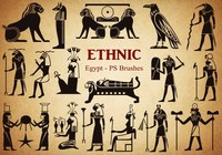 20 Egyptian-Style PS Brushes