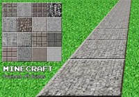 20 Minecraft Pavement PS Brushes