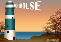 20 Lighthouse PS Brushes abr.Vol.2