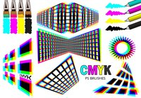 20 Cmyk PS Brushes abr.Vol.3