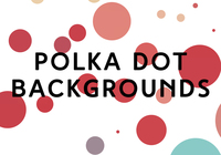 Polka Dot Backgrounds 1