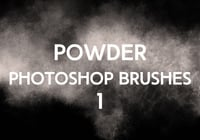 Poudre Photoshop Brushes 1