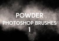 Powder Photoshop Brushes 1
