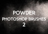 Poudre Photoshop Brushes 2