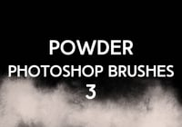 Powder Photoshop borstar 3