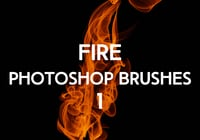 Gratis Fire Photoshop Borstels 1