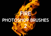 Gratis Fire Photoshop Borstels 2