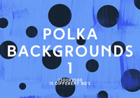 Polka Backgrounds 1