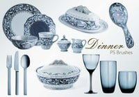 20 Dinner Service PS Brushes.abr vol.4