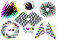 20 Cmyk PS Brushes abr.Vol.4
