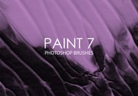 Free Paint Photoshop Brushes 7
