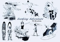 20 Surfing Adventure PS Pinceles abr. Vol.5