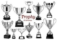 20 Trophy Cup PS Brushes abr.vol.11