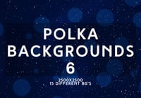 Polka Backgrounds 6