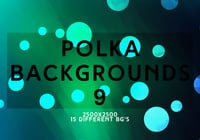 Polka Backgrounds 9