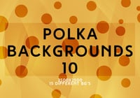 Polka backgrounds 10