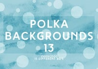 Polka backgrounds 13