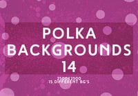 Polka backgrounds 14