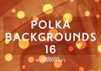 Polka Backgrounds 16