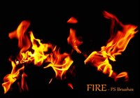 20 Fire PS Brushes abr.Vol.16