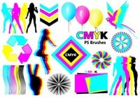 20 Cmyk PS Brushes abr.Vol.6